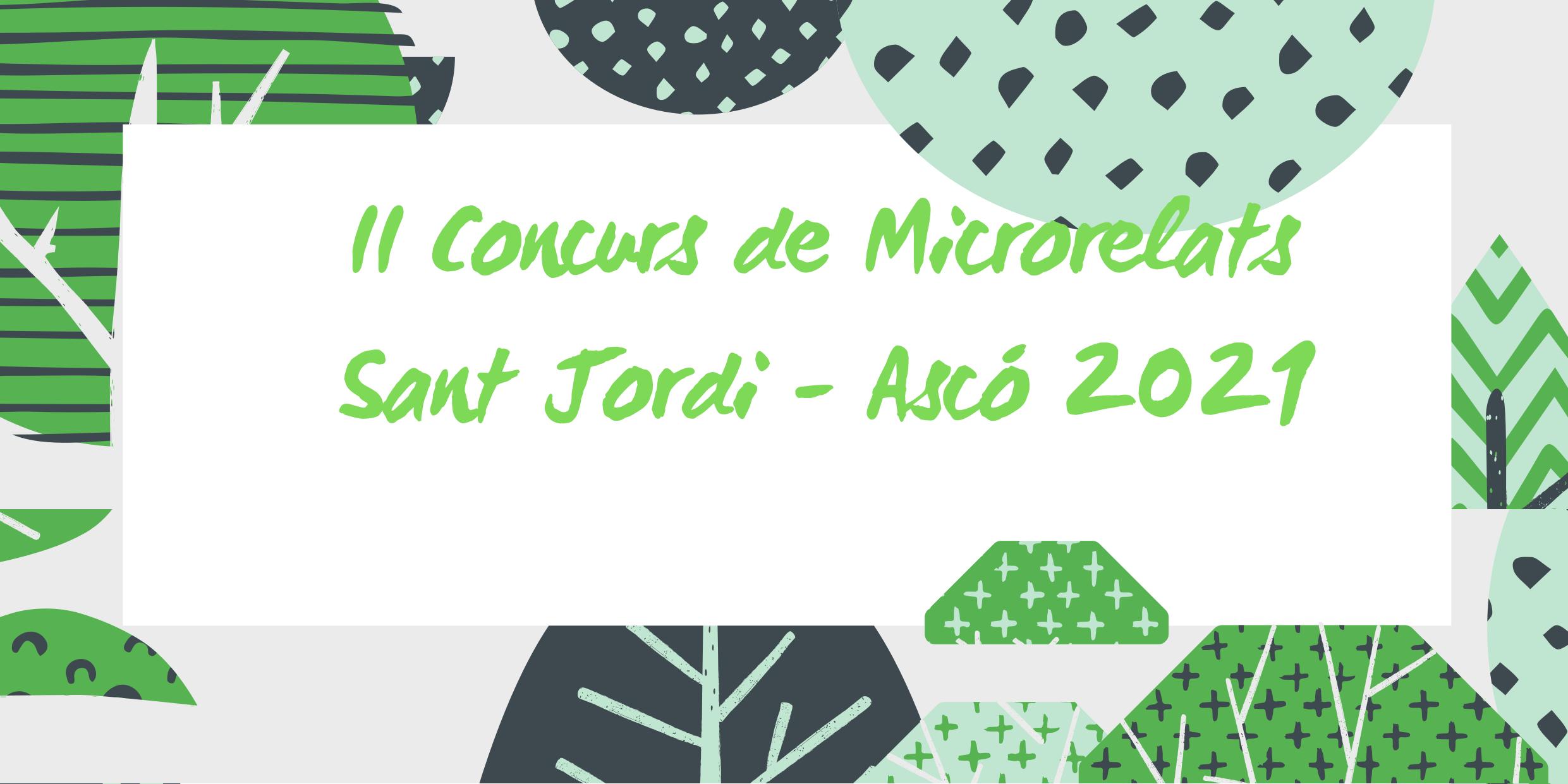 II CONCURS DE MICRORELATS SANT JORDI ASCÓ 2021