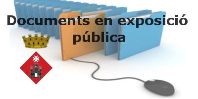 Documents en exposició pública