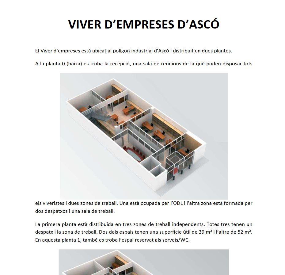 REGLAMENT DEL VIVER I LA NAU TECNOLÒGICA D'ASCÓ